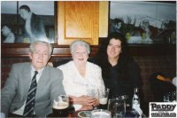 The biggest stars in my life on their 50th wedding anniversary, my mother Nellie, who sadly passed away   on the 11th August 1999 and my father Peter who followed on the 15th August 2001.